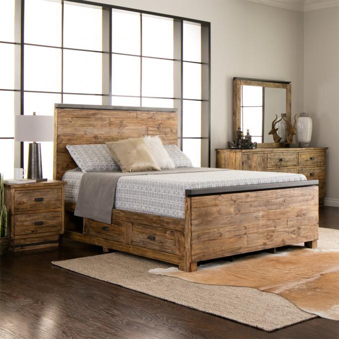 Rustic Bedroom Set   Solid Pine Bedroom Set   Jerome\'s