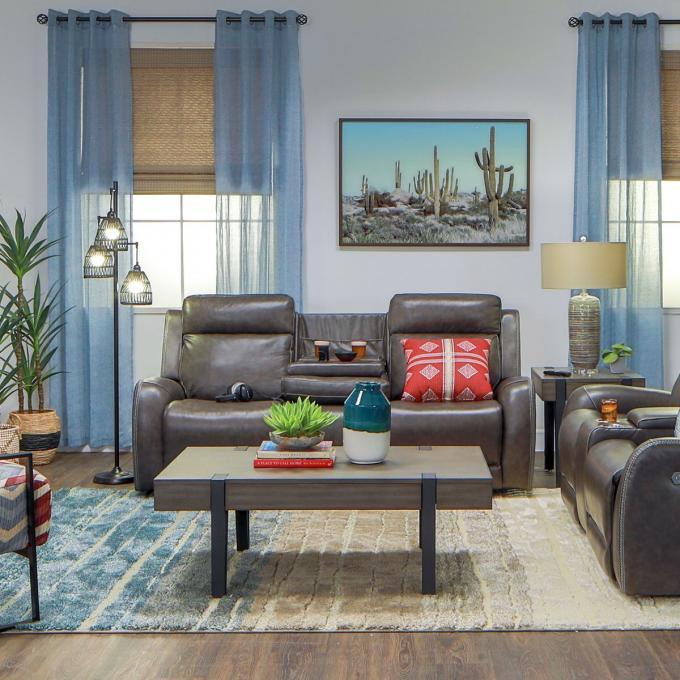 Pleasing Mustang Leather Power Reclining Living Room Set Customarchery Wood Chair Design Ideas Customarcherynet