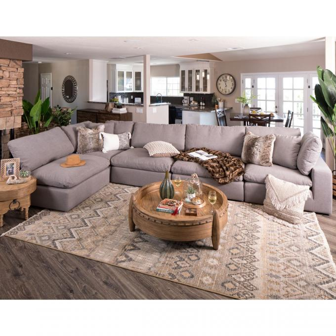 5 Piece Sectional Couch 2 Corners 3