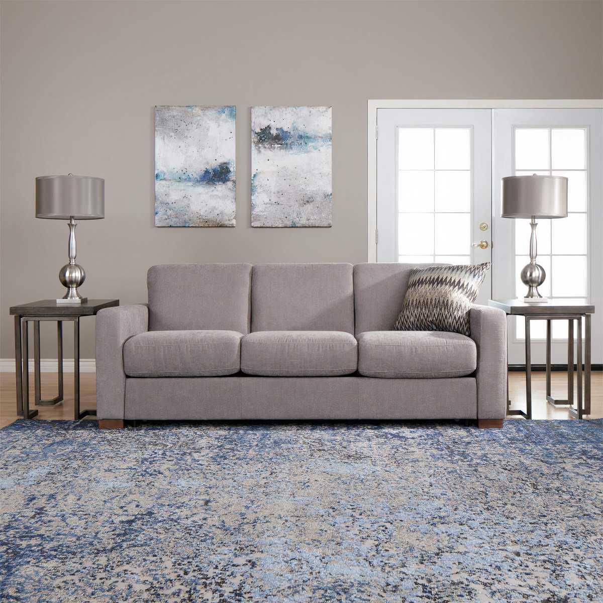 Amalfi Sleeper Sofa Light Grey Sleeper Sofa With Queen Mattress
