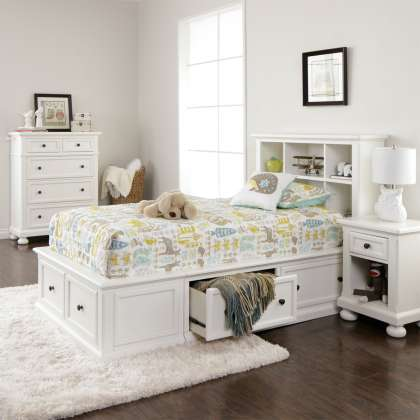 Cumberland Bookcase Bedroom Collection