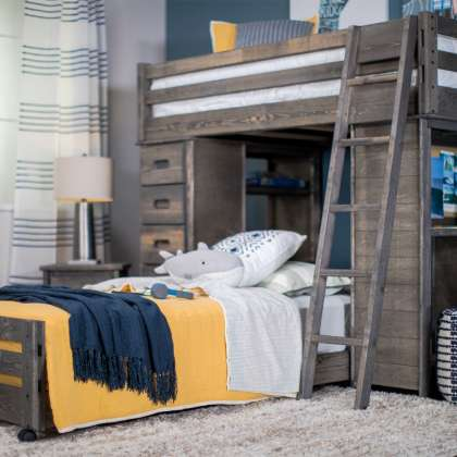 Wrangler Loft Bed Collection - Grey