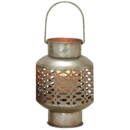 Metal Glass Lantern 3 - Lantern